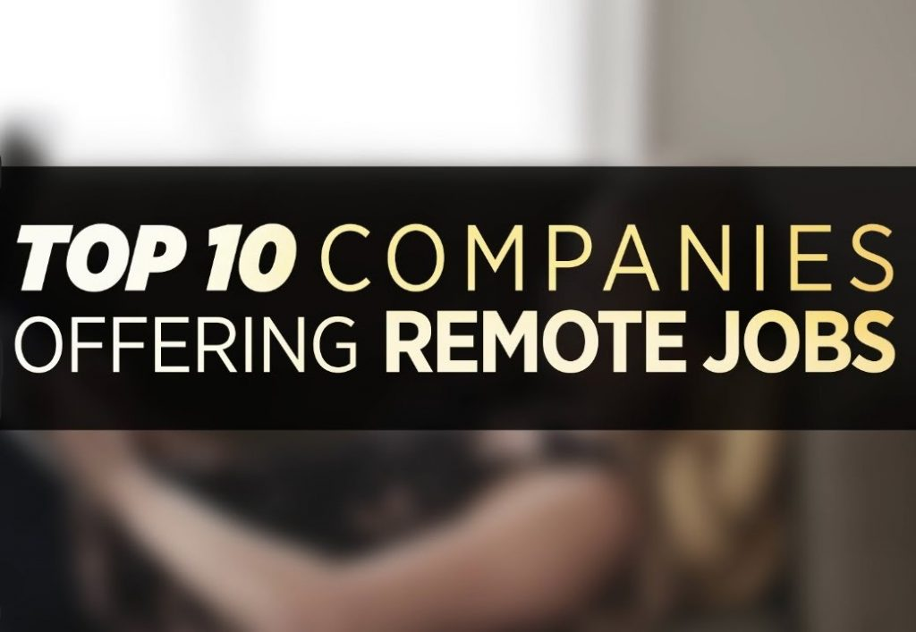 10 of the Best Companies for Working From Home